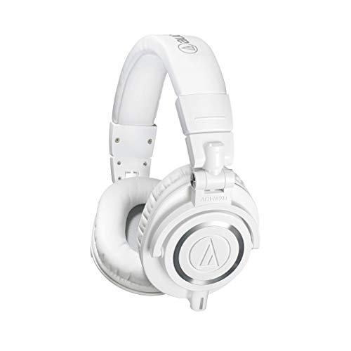 Audio Technica ATH-M50xWH DJ-Kopfhörer für Studio