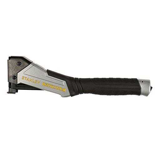 Preisvergleich Produktbild Stanley FatMax Hammertacker/Heftpistole, Antivibe (Aluminiumgehäuse für Klammern Typ G 8-12mm, mit Vibrationsdämpfung, gummierter Überzug, ergonomischer Handgriff, rückschlagfrei) FMHT0-74997