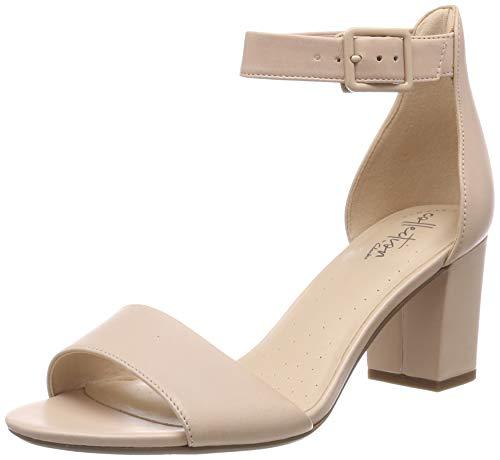 Clarks Deva Mae, Zapatos Tacon Correa Tobillo Mujer