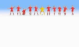 NOCH - 15969 - vía H0 - Equipo de Dinamarca de fútbol - Multicolor