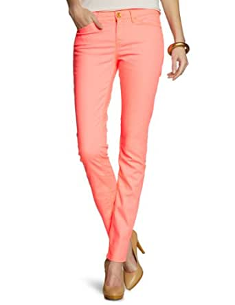 Mexx - Jean - Coupe Droite - Femme - Orange (831) - FR : 26W (Taille fabricant : 26)