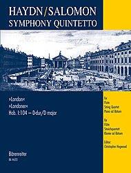 Haydn: Symphony 104 (Flute & String ...