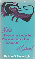 Notes from a bottle found on the beach at Carmel