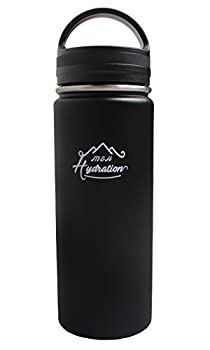 Stainless Steel Water Bottle - Thermo Flask Water Bottle - Hydration Bottle Eco Friendly - M&h Hydration Leak-proof, | Bpa-free Stainless Steel | Reusable Water Bottle | Double Walled Vacuum Insulated | Sistema - Keeps Drinks Cold For 18+ Hrs, Hot For 8 - Hiking, Running, Outdoors Water Bottle (32oz - 909ml) 0