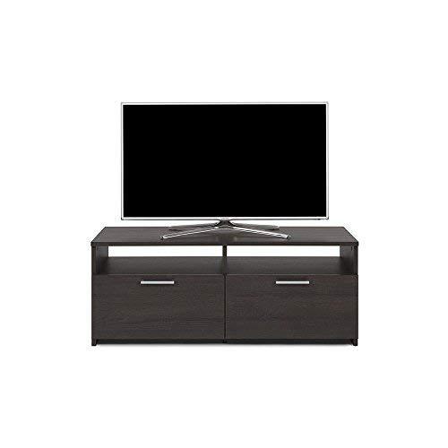 Mobili Fiver, Rachele Meuble TV, Mélaminé, Wengé, 112 x 42 x 45 cm