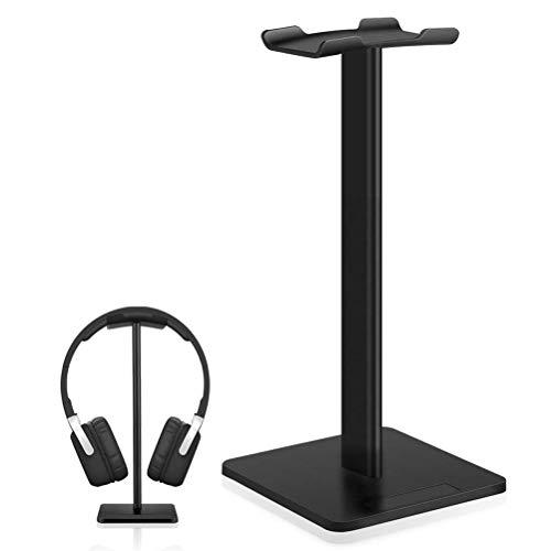 Kopfhörerständer, SHUMEIFANG Universal Kopfhörerhalter für Over Ear Kopfhörer, aus Aluminium + TPU + ABS, Schwarz - Aluminium-kopfhörer