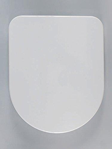 Preisvergleich Produktbild Haro Calla SoftClose Premium WC-Sitz 523381, weiß, Scharnier Klappdübel C1202G; passend zu Laufen Pro neu/Rimless, Vitra S50 Compact