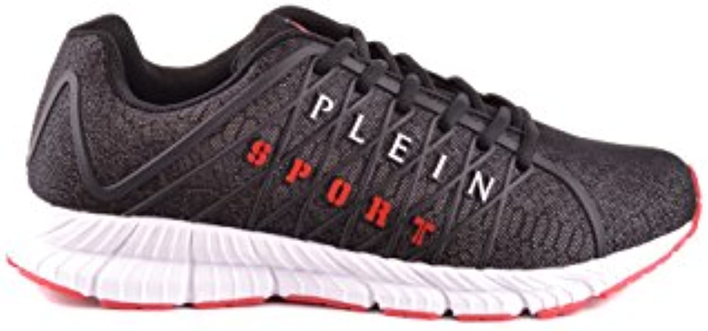Philipp Plein Hombre MSC0550STE006N02 Negro Poliéster Zapatillas  -