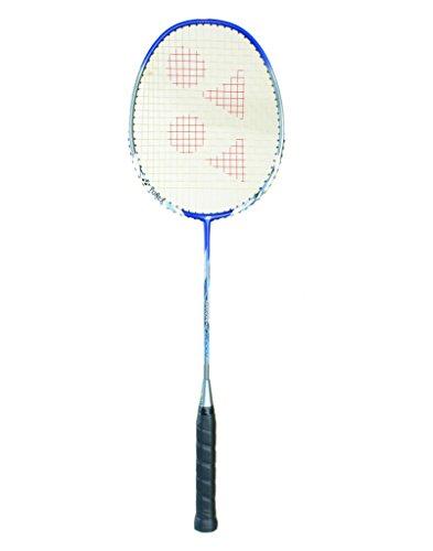 Yonex 7000I Nanoray Graphite Lined Aluminum Badminton Racquet, G4   3 3/4 inches  Blue/White/Silver