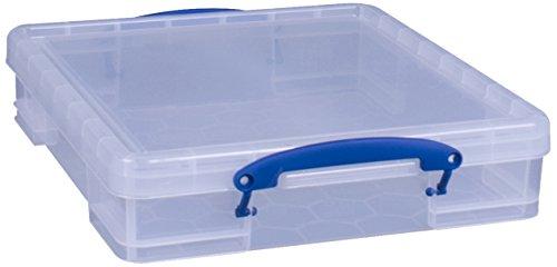 Really Useful Box 7Liter Craft/Scrapbooking Aufbewahrungsbox, transparent