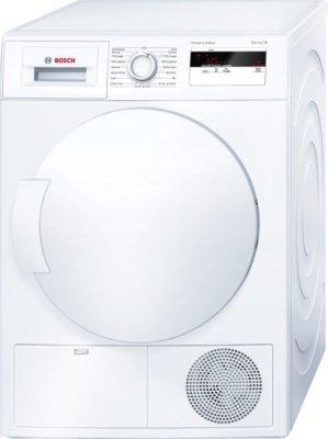 Bosch WTH83000FF Sèche Linge Condensation 8 kilograms Départ Différé, sonde électronique, Affichage du Temps Restant, Affichage Par LED, Ecran Classe: 618248 Blanc