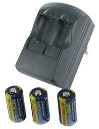 Preisvergleich Produktbild Ladegeräte Typ DURACELL CR123A,  3.0V,  500mAh,  Li-Ionen