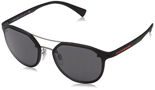 Prada Sport Herren PS55SS DG05S0 53 Sonnenbrille, Schwarz (Black/Grey)