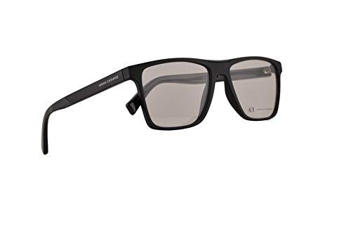 Armani Exchange AX3055 Brillen 55-16-145 Matt Schwarz Mit Demonstrationsgläsern 8078 AX 3055