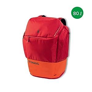 Atomic Damen/Herren Rucksack RS Pack, 80 Liter, 62 x 43 x 32 cm, Polyester, rot/hellrot, AL5037310