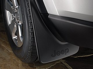 2011-2015 Jeep Grand Cherokee Front and Rear Deluxe Molded Splash Guards-Set of 4 by Mopar