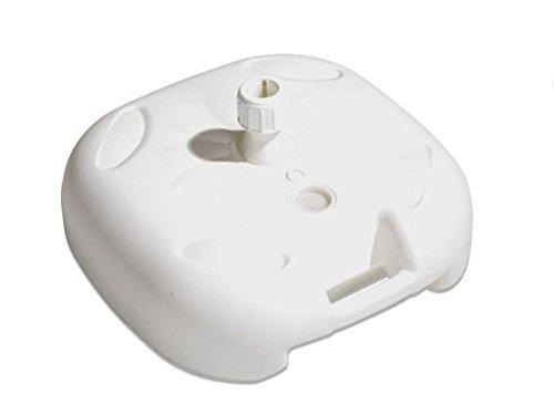 Juinsa 8142000.0 Schirmständer, wiederbefüllbar, Kunststoff, Weiß, M