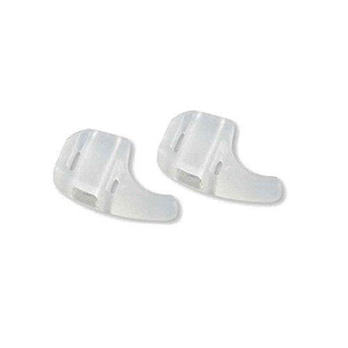 Lidahaotin 1 Paar Kinder Silikon-Sonnenbrille-Brillen Antirutsch-Ohr-Haken-Halter Weiß (Ohr-haken-für Kinder-brille)