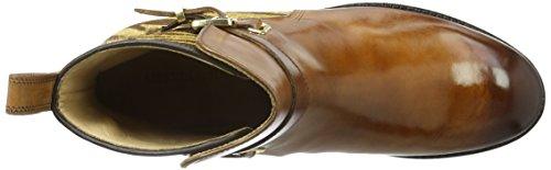 Melvin & Hamilton Damen Lauren 1 Kurzschaft Stiefel Beige (Crust Tan/ hairon Zebra/hRS)