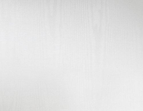 Klebefolie Dekorfolie Holzdekor Struktur weiß 45x200 cm Selbstklebefolie Möbelfolie (Weiß Holz Folie)