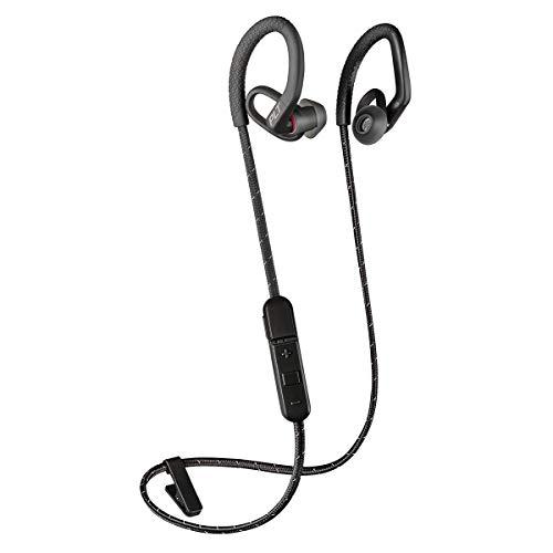 Plantronics BACKBEAT FIT 350 Bluetooth-Sport Headset/Kopfhörer, In-Ear Schwarz/Grau 350 Bluetooth