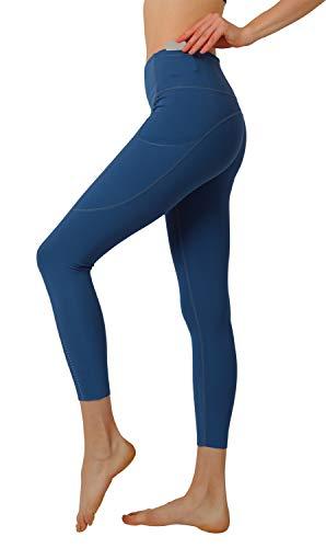 Leggings Mujer Pantalones Deportivos Yoga Leggins Deporte Running Fitness Tallas Grandes Negro Reductores Verde Slim Fit Push Up Gym Gimnasio Workout Azul Alta Cintura XS Verano XL (Azul,EU38)