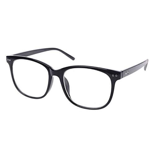 super-cool Unisex Brillenbrille mit Sternen für Damen und Herren Gr. Einheitsgröße, BK