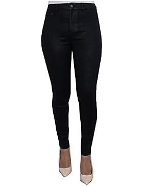 New Look Damen Skinny Hose Schwa