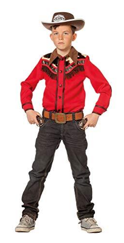 Karneval-Klamotten Cowboy Hemd Kostüm Kinder