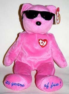TY Beanie Baby - SUMMERTIME FUN the Bear (PINK - Chigaco Gift Show Excl) [Toy]