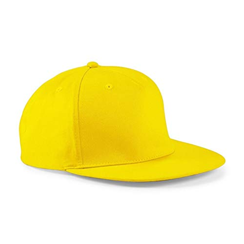 Snapback Hip Hop Rapper Cap one size,Yellow