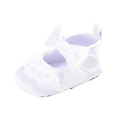 De Babyschuhe Únicos Meninas Antiderrapantes Sapatos Sapatilha Branco Meses Curva Sapatos Bebê 0 nó Lona Macios Sapatos Longra Walker 18 Barco ~ 5SgnYx