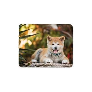 Cute Akita Puppy Dog Mouse Mat Pad - Exotic Dog Lover Fun Computer Gift #15710