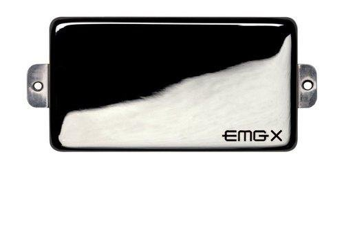 EMG EM938030 60-X Humbucker X-Series Pickups per Chitarre Elettriche Cassa in Acciaio, Cromo Nero
