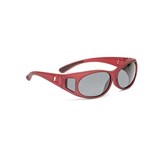 Überbrille - oval groß soft - 3 Farben rot