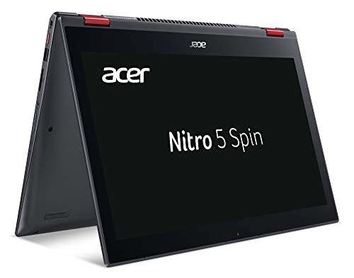 Acer Nitro 5 Spin NP515-51-53DZ 39,6 cm (15,6 Zoll Full-HD Multi Touch IPS) Gaming Notebook (Intel Core i5-8250U, 8GB RAM, 256GB SSD, 1000GB HDD, GeForce GTX 1050 (4GB VRAM), Win 10) rot/schwarz Acer-laptop-pcs