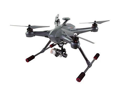 XciteRC-15003300-Cuadrocptero-Scout-X4-RTF-Dron-FPV-con-cmara-HD-completa-y-cmara-iLook-3D-Gimbal-GPS-base-batera-cargador-y-mando-a-distancia-Devo-F12E-con-un-monitor-a-color-integrado