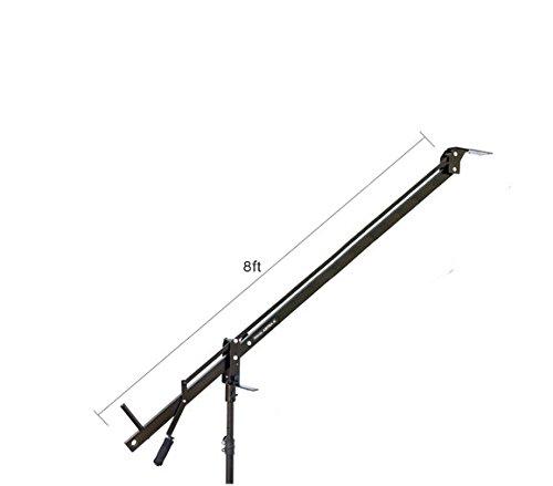 Proaim Astra Professionelle Mini Kamera Jib Arm für DSLR Video Film Kamera | schwere und doch leicht, besten Reise-Aluminium-/Crane mit LCD Arm + Tasche (2,4m) (Film Making-stativ)