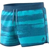 adidas Herren Badehose Split AOP SH, Blau (ciabri/azubas), XL