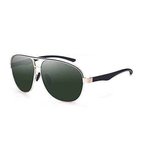 SCJ Herren Outdoor Freizeit Herren Damen Classic Wild Personalisierte Polarisierte Komfortbrille UV-Schutz Strandurlaub Sonnenbrille Kleines Gesicht Damen Sonnenbrille (Farbe: Einfarbig, Größe:
