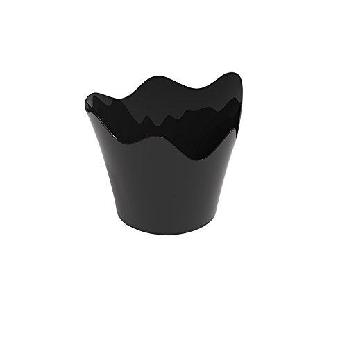 Finger Food Coupelle Rain PS 90 cc cfz 25pz noir