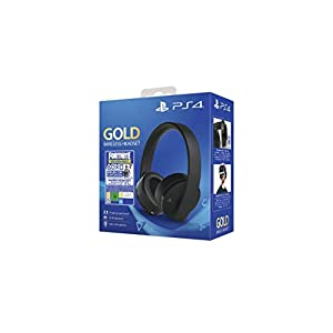 PlayStation 4 – Gold Wireless Headset: Neo Versa Bundle