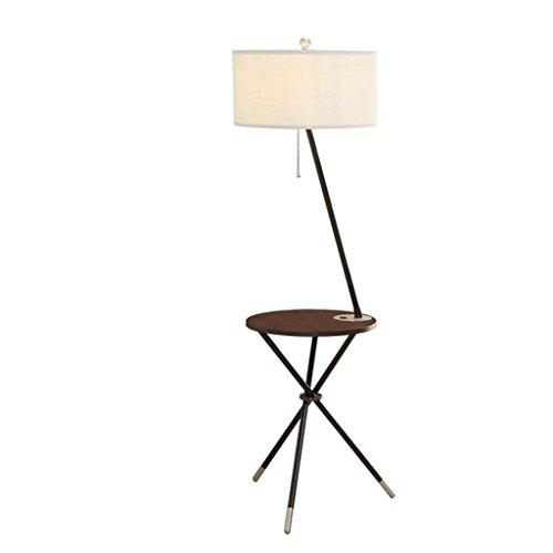 Stehleuchte Stehlampe, Wohnzimmer Schlafzimmer Kreative Couchtisch Licht Nordic American Massivholz Stehlampe Nachttischlampe Vertikale Augenschutztischlampe