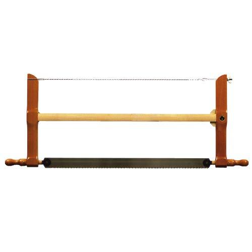 Ulmia 277-600 Säge, Spannsäge (lasergehärtete Spezialverzahnung; verlauffreie Schnitte; auf Zug ausgelegte japanische Hochleistungsblätter; zahnspitzengehärtet; Länge: 600 mm)