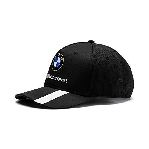 BMW MOTORSPORT Herren Stripe Black Baseball Cap, Schwarz (Herstellergröße: One Size)