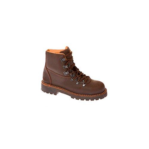 Gaston Mille - Chaussures de sécurité montage cousu VARAPPE SBP WRU HI HRO Marron