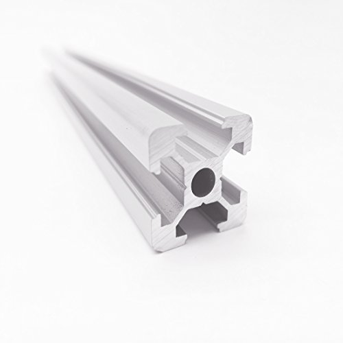 CNC Länge 400 mm 3D Drucker Teile European Standard eloxiert linear Rail Aluminium Profil Extrusion 2020 für DIY 3D Printer Workbench (Workbench Teile)