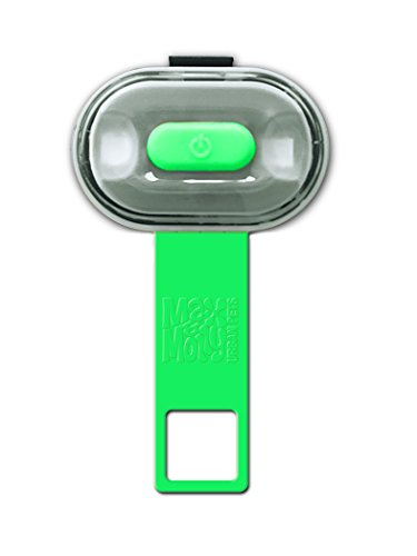 Max & Molly Ultimate Qualität Pets Ultra Sicherheit Wasserdicht LED, Lime Grün