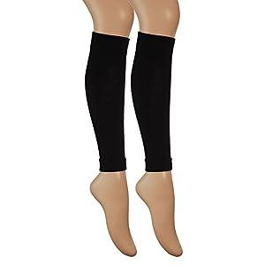 Vitasox Stulpen Stützstulpen Reisestulpen Baumwolle Damen Herren Stützstrümpfe Reisestrümpfe Kniestrümpfe 2er, 4er oder 6er Pack