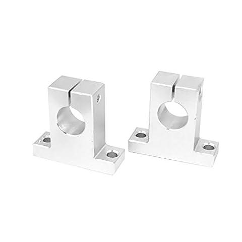 Gazechimp 2 Stück lineare Schiene Schaft aufspannung Guide Unterstützung - SK13